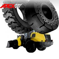 Quality Wheel Loader Solid Tire for New Holland Vehicle  17.5-25, 20.5-25, 23.5-25, 26.5-25 for sale