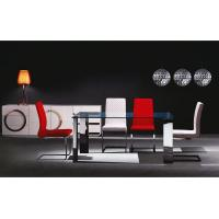 Quality metal and glass dining tables/MDF attached stainless /15mm glass.T111 for sale