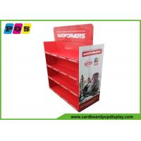 Double Sided Corrugated Pallet Display Stands For Box Packed Games PA039