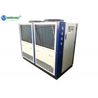 Quality Food Processing 25 HP -5 C Copeland Compressor Air Cooled Cooling Chiller Machine for sale