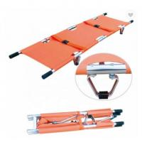 Quality PVC Emergency Stretcher Trolley Popular Scoop Style Collapsible Stretcher Ambulance for sale