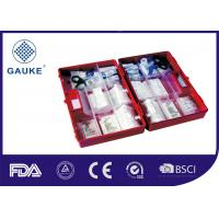 Quality Portable Medical First Aid Kit For Work Place Car Roadside Empty Box Available for sale