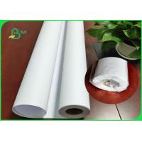 China 36Inch * 150M White Plotter Paper Good Stiffiness For Canon Plotter Printer on sale