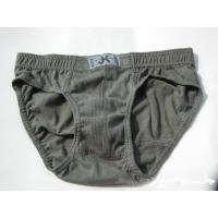 Quality Gray Enhancement Plus Size Low Price Customized Knitted Mens Underwear With Nice Service for sale