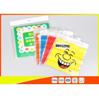 Quality Stand Up Biscuit Pe Plastic Reselable Pouches / Custom Resealable Plastic Bags for sale