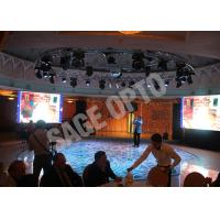 Quality Shenzhen High Brightness Advertisement Slim Led Display Indoor Wide Viewing Angle for sale