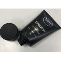 Quality Men Facial Cleanser Plastic Cosmetic Packaging Tube Combined With Silkscreen Printing for sale