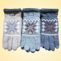 Quality Knitted Gloves Made of Acrylic and Polyester with Thinsulate Lining, OEM Orders are Welcome for sale
