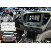 Buy cheap Android 6.0 GPS Navigation Box for 2014-2018 GMC Acadia built in WIFI Mirrorlink from wholesalers