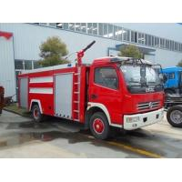 Quality 5000L Fire Rescue Truck 3-5cbm Small Fire Engine Vehicle 4 Doors With A / C for sale