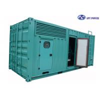 Buy cheap Outdoor Weatherproof 1000kVA Diesel Generator Low Noise Weatherproof product