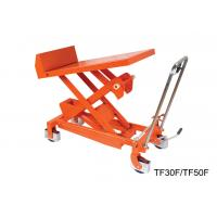 Quality Professional Heavy Duty Tilting Lift Table Stainless Steel Lift Cart High Strength for sale