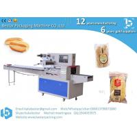 Quality Coconut bread fruit bread strawberry bread stainless steel packaging machine for sale