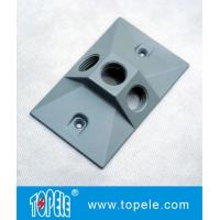 OEM Vertical Aluminum Rectangular Weatherproof Electrical Boxes Cover