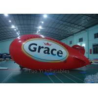 Quality Colorful Giant Advertising Zeppelin , Helium Airplane for Entertainment Event for sale