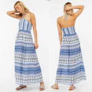 Quality Factory Direct Sales Halter Maxi Dress Laddies Boho Long Dresses for sale