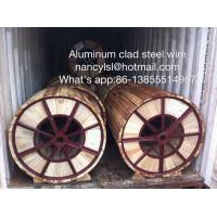Quality Aluminum clad steel wire Electric Transmission for sale