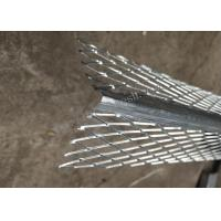 Quality 2.7m Length Plaster Angle Bead With 5cm Diamond Mesh Wings 0.35mm Thickness for sale