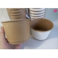 Quality 500pcs per Carton 20oz Double Wall Paper Bowl Food Conatiner Takeaway in EU market for sale