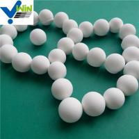 Quality Highly wear resistant alumina catalyst support ceramic ball/beads/pellets for sale