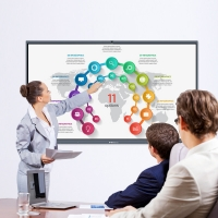 """Buy cheap Smart Interactive Whiteboard 65"""" Interactive Display Interactive Flat Panel For from wholesalers"""