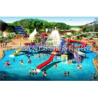 Sea Style Water Playground Equipments With Spiral Water Slide