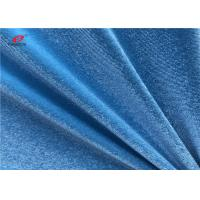 China Korean Warp Knitting Spandex Velvet Fabric 92 Polyester 8 Spandex For Women Dress on sale