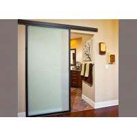 Quality Impact Resistant Decorative Tempered Glass 4mm Thickness Frosted Safety Glass for sale