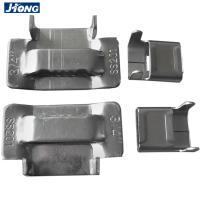 Quality Eco Friendly Stainless Steel Banding Buckles Use With Metal Strap Antirust for sale