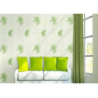 Buy cheap Lily Printing 0.53*10M Custom Country Style Wallpaper With Embossed Surface Treatment product