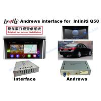 Quality Infiniti Multimedia video interface upgrade Android 6.0 HD GPS navigation box for sale