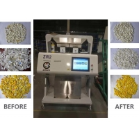 China 400kgs/H 2 Channel HDPE Flakes CCD Optical Color Sorter on sale