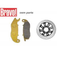 Quality OEM Aftermarket Honda Motorcycle Brake Pads Good Performance Low Noise for sale