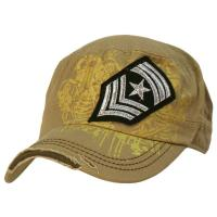 China Cotton Camouflage Color Sports Military Baseball Caps , Six Panel Army Hats For Men on sale