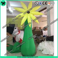 Quality 3m Event Party Decoration Inflatable Stand Flower/Inflatable Flower Tree for sale