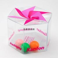 Quality PVC gift packaging boxes clear favor box for sale