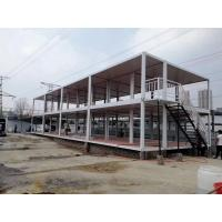 China Prefab Expanding Container House High Flexibility 2.8 Ton Weight Factory Ready Made on sale