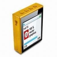 Buy cheap MP4 Player with Patented 360° Rotatable Clip, Built-in Memory and Micro SD Card from wholesalers