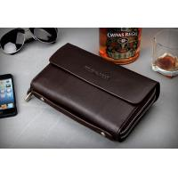 Quality Hot Sale Real Leather Wallet Card Holder Hand Clutches Bag for sale