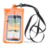 Buy Soft PVC Waterproof Pouch Bag Colorful Cover Guaranteed Submersible To 19ft / 6m at wholesale prices