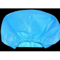 Quality Blue Anti Dust Disposable Medical Caps Non Woven Waterproof Acid Proof for sale