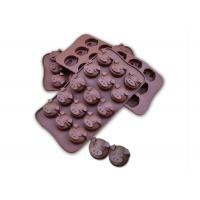 Quality Fifteen Cavaties Silicone Chocolate Molds 46g Weight For Microwave Ovens for sale