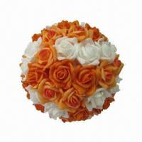 Quality Wedding Artificial Rose Flower Ball for sale