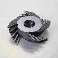 China Carbide Tipped Finger Joint Cutter Steel Body Material Single Piece Type on sale