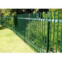 Quality Hot Dip Galvanised Steel Palisade Fencing Easily Install With Good Rigidity for sale