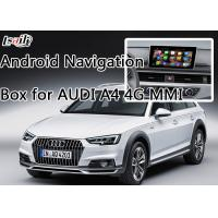 Quality AUDI A4 Car Android Auto Interface Upgrade System With Rear Parking Guideline for sale