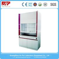 Quality Safety Laboratory Fume Hood Anti - Corrosion With 6mm Tempered Glass Sash for sale