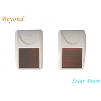Quality Solar-Powered Double-beam Active Wireless Infrared Beam Detector for Windows for sale