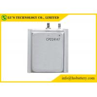 Buy Limno2 Primary Ultra Thin Battery For Radio Alarm Equipment / Sensors CP224147 at wholesale prices
