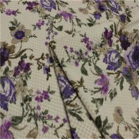 Quality Plain 100 Polyester Patterned Upholstery Material SGS Approved for sale